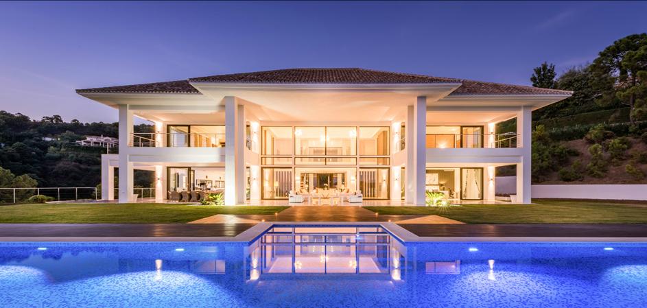 Moderne Mansion te La Zagaleta